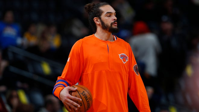 Knicks center Joakim Noah. (AP File Photo/David Zalubowski)