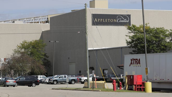 Appleton Coated, located at 540 Prospect St. in Combined Locks, is expected to operate in a limited capacity for 45 days as a new owner is sought.