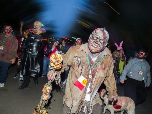 Downtown Phoenix Zombie Walk