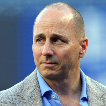 New York Yankees general manager Brian Cashman.
