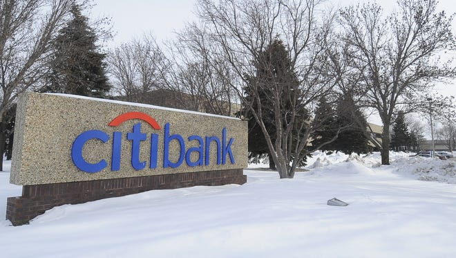 Citibank is leasing space to Daktronics on its northeast Sioux Falls campus.