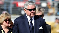 Outgoing Panthers owner Jerry Richardson fined $2.75 million by NFL for workplace misconduct