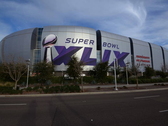USP NFL: SUPER BOWL XLIX-STADIUM VIEWS S FBN USA AZ