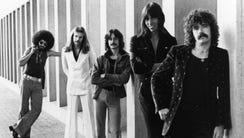 Boston, circa 1976, from left: Sib Hashian, Fran Sheehan,