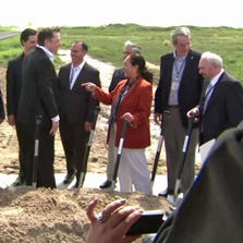 SpaceX broke ground on its South Texas spaceport on September 22, 2014.