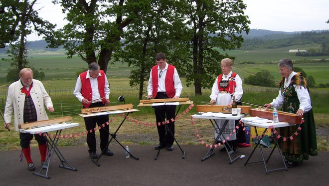 Celebrate Norwegian culture and heritage at Syttende Mai 11 a.m. to 5 p.m. Saturday, May 14, at Johan Vineyards in Rickreall.
