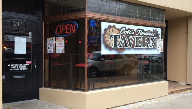 Colt's Timeless Tavern is located at 215 E. College Ave. in downtown Appleton.