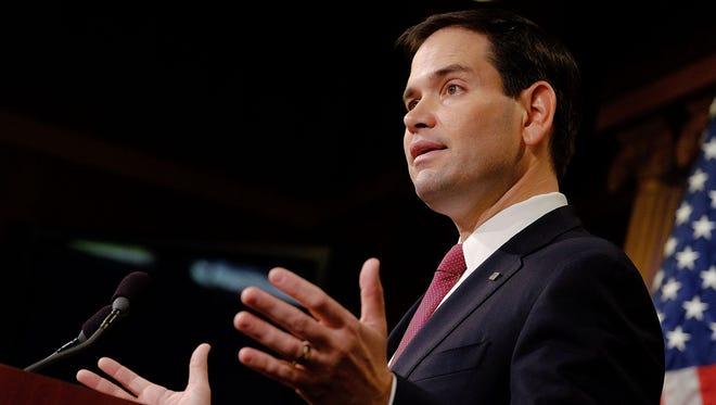 Sen. Marco Rubio, R-Fla., talks about U.S.-Cuba policy.