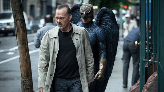 "Michael Keaton portrays Riggan in a scene from ""Birdman."""