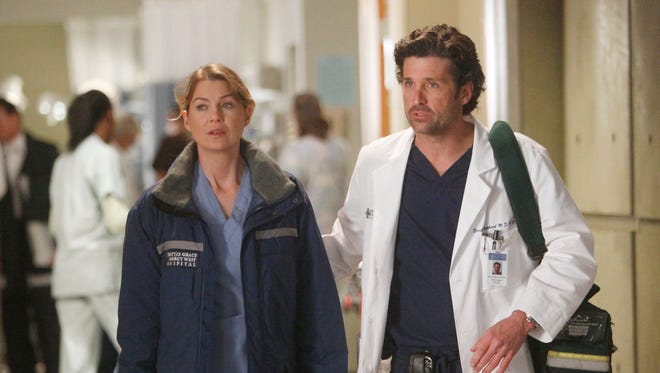 Meredith and Derek, as they should be.