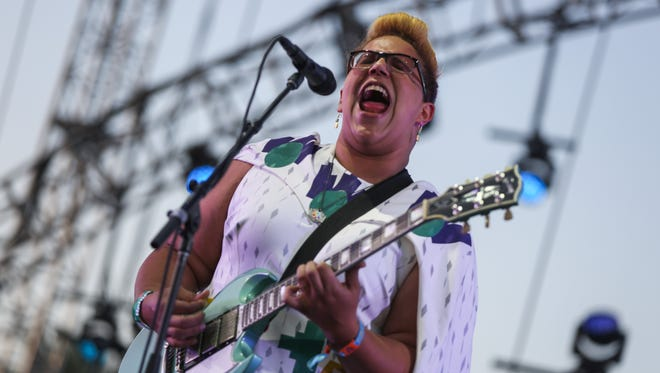 Brittany Howard of Alabama Shakes performs at the 2015 Coachella Music and Arts Festival on April 17 in Indio, Calif.