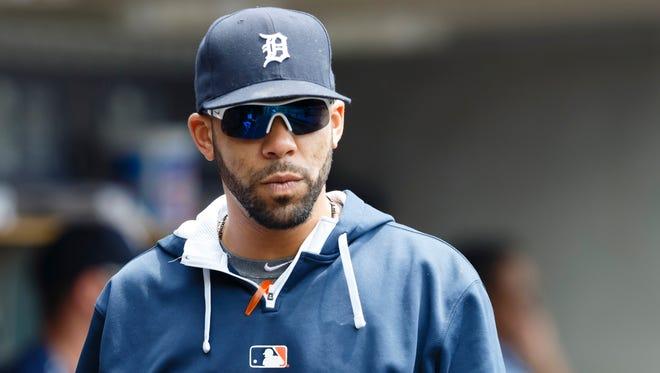 May 9, 2015; Detroit Tigers starting pitcher David Price (14).