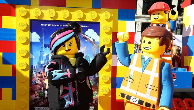 "The premiere of ""The Lego Movie"" at Regency Village Theatre on Feb. 1, 2014, in Westwood, California."