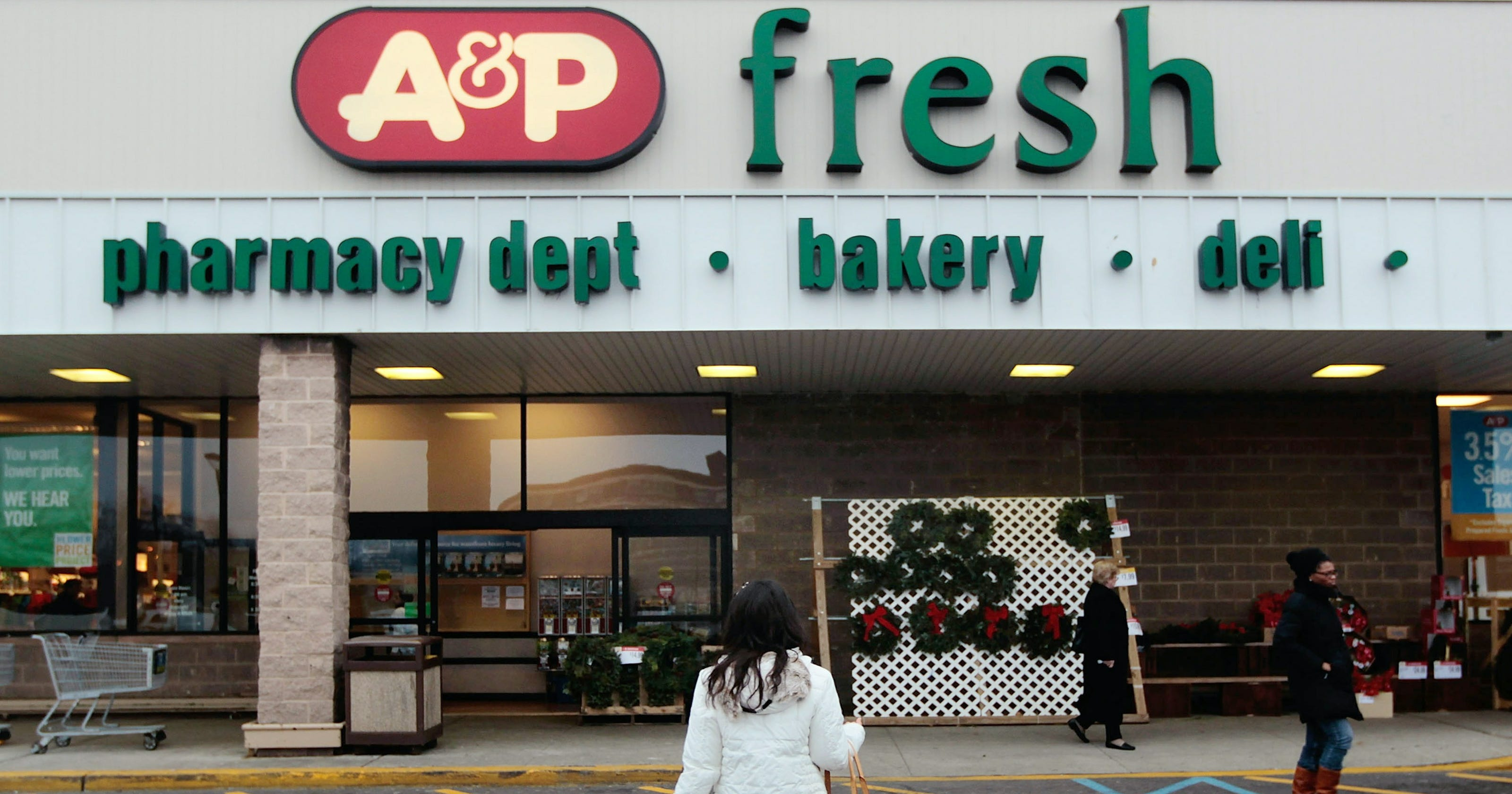 a p supermarkets bankruptcy protection