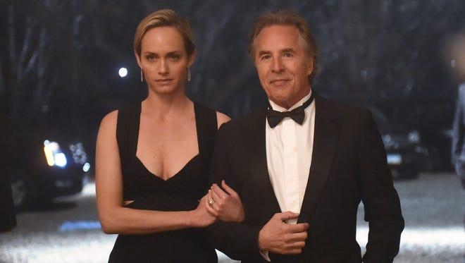 Amber Valletta and Don Johnson are part of the ensemble cast of 'Blood and Oil.'
