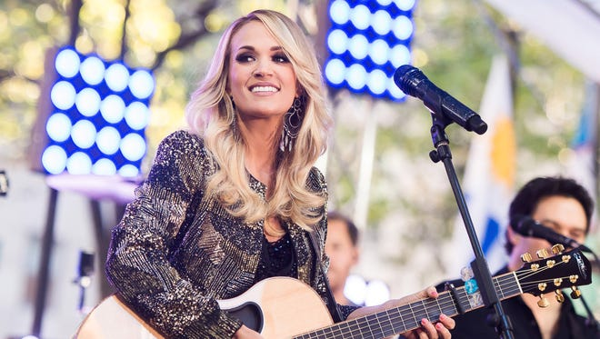 Carrie Underwood will play the CenturyLink Center in Bossier City on her upcoming Tour.
