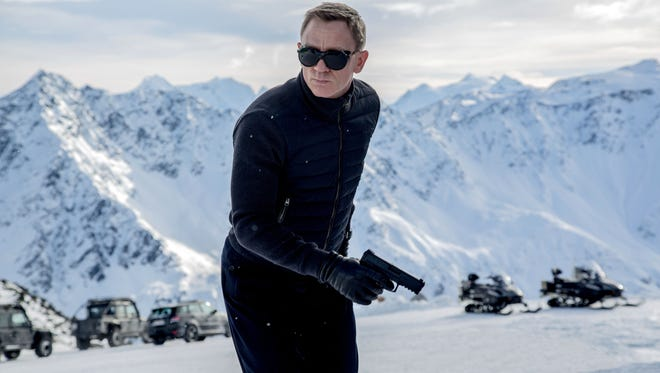 """In this image released by Metro-Goldwyn-Mayer Pictures/Columbia Pictures/EON Productions, Daniel Craig appears in a scene from the James Bond film, """"Spectre."""" The movie releases in U.S. theaters on Nov. 6, 2015."""