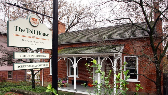 The Toll House was the first canal-era building to be restored in what has become Historic Roscoe Village.