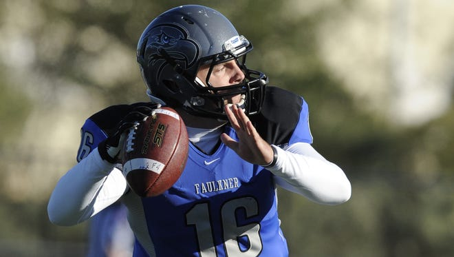 Faulkner quarterback David Cochran finishes his college career on a high point.