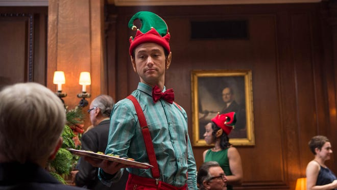 """This photo provided by Columbia Pictures shows, Joseph Gordon-Levitt as Ethan in Columbia Pictures' """"The Night Before."""" The movie opens in U.S. theaters on Nov. 20, 2015."""