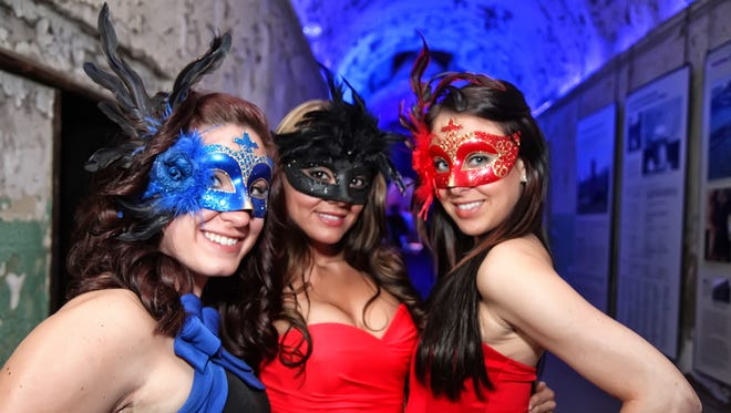 Guests visit the 2015 Party at the Pen at Eastern State Penitentiary in Philadelphia.