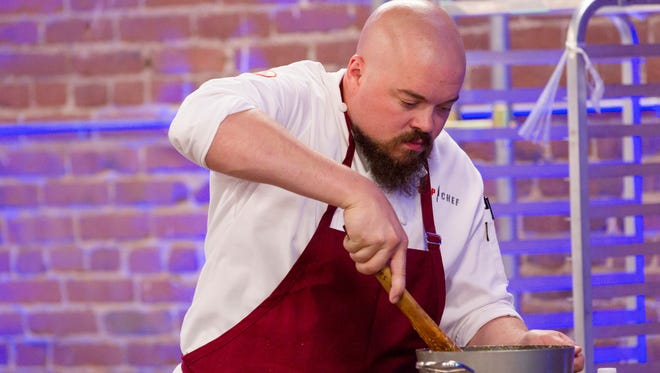 """TOP CHEF -- """"Wok This Way"""" Episode 1312 -- Pictured: Isaac Toups -- (Photo by: Kim White/Bravo)"""