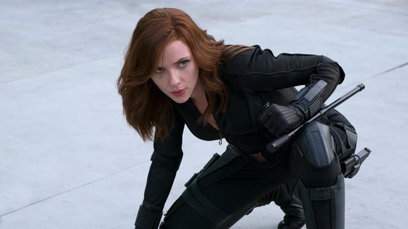 Black Widow, Scarlet Witch and Sharon Carter all play