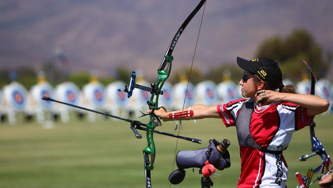 Heather Koehl has competed in the World Cup four times as part of the U.S. women's archery team.