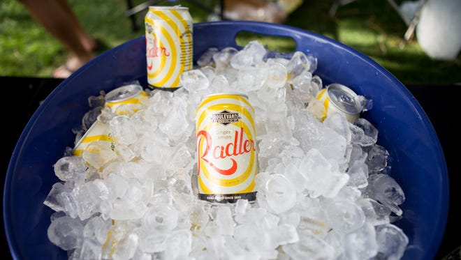 Radler was delicious at the 2016 Ameri-CAN Canned Craft Beer Festival in Scottsdale on Saturday, May 14, 2016.