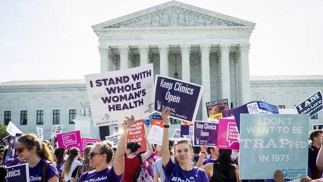 The Supreme Court on Monday ended a term marked by the death of Justice Antonin Scalia with a major decision upholding abortion rights.