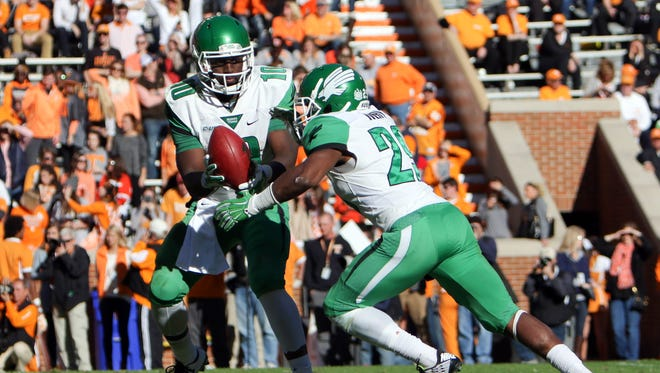 North Texas is the only team in Conference USA that has to face Southern Miss, Louisiana Tech, Marshall, Western Kentucky and Middle Tennessee in 2016.