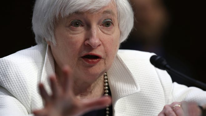 Federal Reserve Chair Janet Yellen led last month's meeting of policymakers. Meeting minutes this week could shed light on the chances of a September rate hike.
