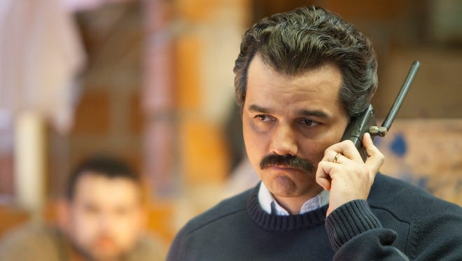 Wagner Moura plays drug kingpin Pablo Escobar in the Netflix period drama, 'Narcos.'