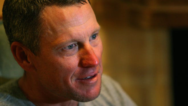 The government is suing Armstrong on behalf of USPS.