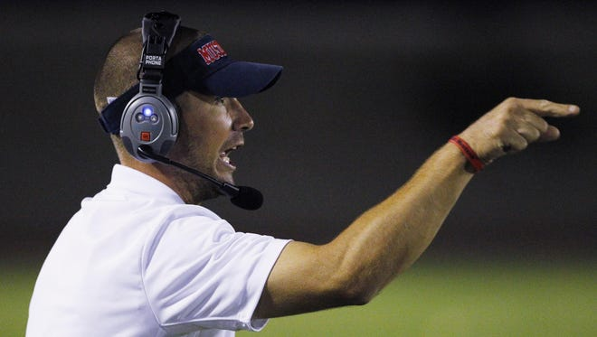Tulare Western's Ryan Rocha is in his fourth year as head coach of the Mustangs football team.