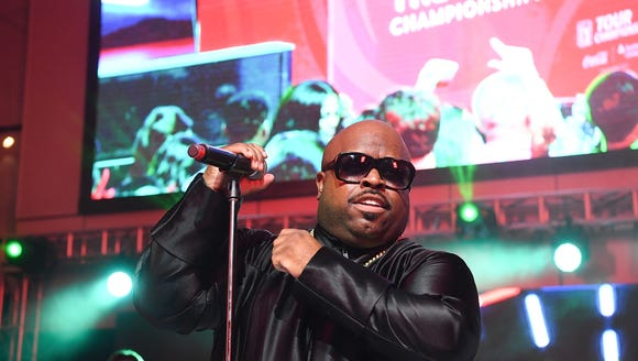 CeeLo Green performs onstage at the College Football
