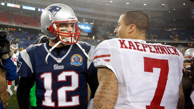 Do players like Tom Brady see eye to eye with Colin Kaepernicks' social protest? It would be nice to know.