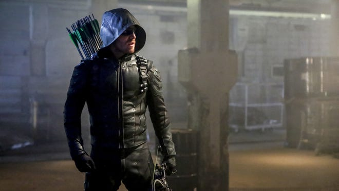 Stephen Amell returns for another season of 'Arrow' on CW.
