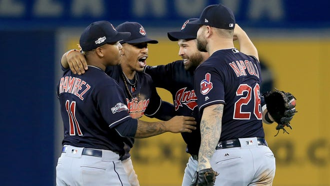 The Indians begin the World Series against the NL champion on Tuesday.