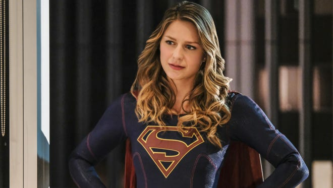 Melissa Benoist is Kara/Supergirl on 'Supergirl,' which will soar for a third season, as one of seven series given early renewals by CW.