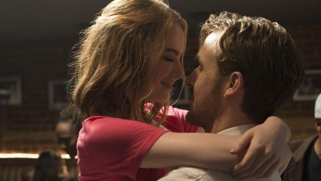 Emma Stone and Ryan Gosling in 'La La Land.'