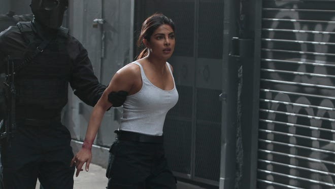 ABC confirms Priyanka Chopra suffered a minor injury on the New York set of 'Quantico' Thursday night.