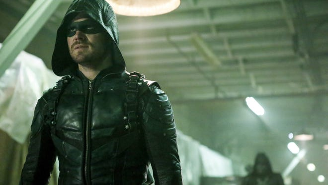 Stephen Amell in the CW's 'Arrow.'