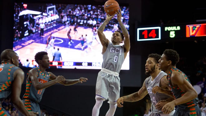 Former Peoria High standout DeWayne Russell is having himself quite the season at Grand Canyon.