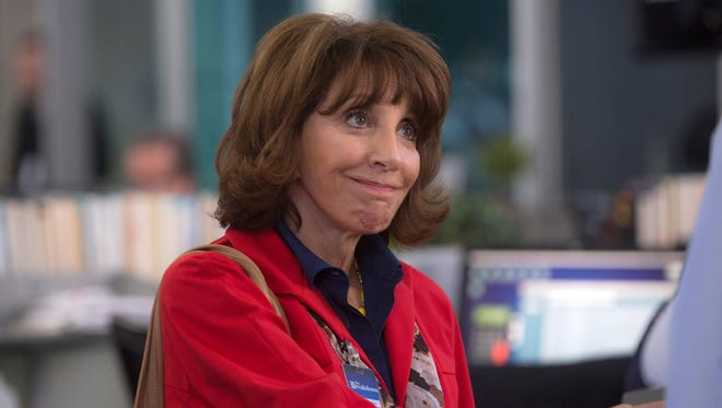 No, that's not 'SCTV's' Edith Prickley, but Andrea Martin's 'Great News' character is working in TV.