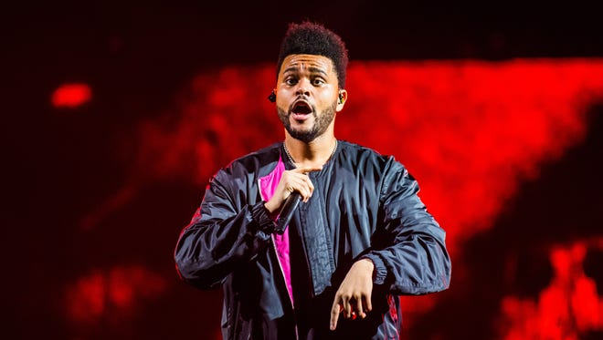 The Weeknd plays the Palace of Auburn Hills on May 24, 2017.