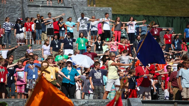 The Hill Cumorah Pageant in Palmyra, New York, is the longest running outdoor religious drama in the country.