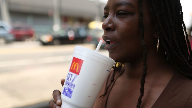 BBC Watchdog found traces of a poo bacteria in McDonald's and other fast food chain's ice.