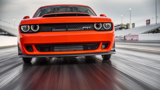 Media members found the 840-horsepower Challenger SRT Demon as breathtaking behind the wheel as its gaudy stats suggest.