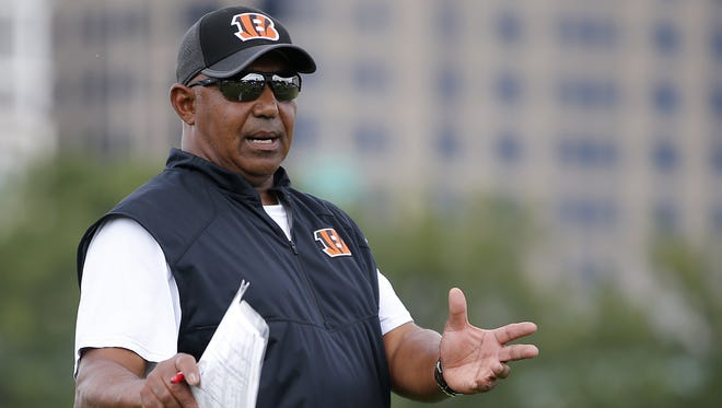 Cincinnati Bengals head coach Marvin Lewis returned to practice Aug. 9.